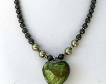 Swarovski Crystal Pearls and Sterling Silver Necklace