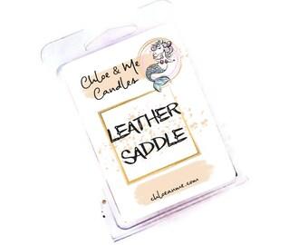 Parasoy Wax Melt Clamshell- Leather Saddle