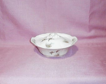 "Alfred Meakin ""Wildfowl"", covered vegetable dish/tureen/1950s / China/British"