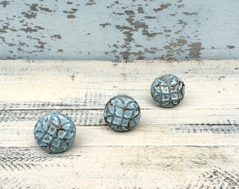 Drawer Pull Knobs, Drawer Knobs, Blue Drawer Knobs, Dresser Drawer Knobs,  Drawer