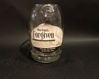 Wild Turkey Candle/Wild Turkey Forgiven Bourbon WHISKEY BOTTLE Soy Candle.  750ML. Made to Order !!!!!