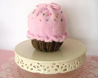Amigurumi Knit Little Cupcake Purse Pattern Digital Download