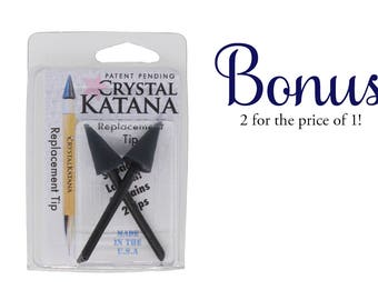 2 for 1! Crystal Katana Replacement Tip *Limited Time Only - While Supplies Last*