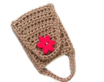 Kitchen Towel Holder / Towel Ring / Towel Topper / Towel Holder / Crochet Towel Holder