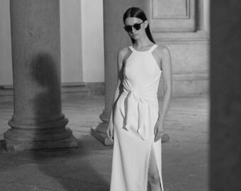 Simple wedding dress, Cool wedding dress, Unique wedding dress, Modern wedding dress, Romantic wedding dress, Jovana Wedding Dress