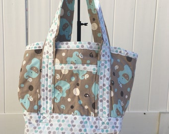 Elephants on Parade Tote