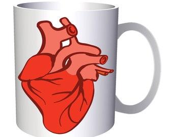 Anatomically correct heart goodnight 11oz Mug v957