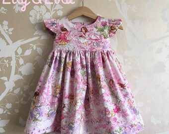 F L O R E N C E  Flower Fairies Handmade Dress by Lily and Lola