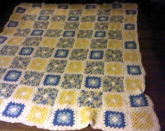 No. 23 Listing is French Country Afghan handmade