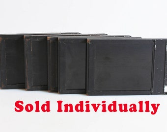 Vintage 4X5 Film Holders//Wooden Film Holders//Photography