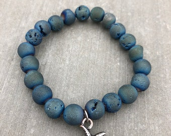 Agate Bracelet with Sea Star