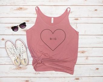 Big Little Tank, Reveal Tank, Sorority, Big Sis, Little Sis, GBig, GGBig, Heart