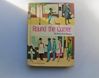 VIntage Readers, Round the Corner, The Bank Street Readers, 1960's School Readers