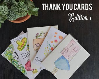 Thank You Cards- Edition 1