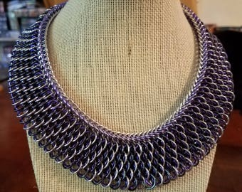 Dragonscale Chainmail Necklace