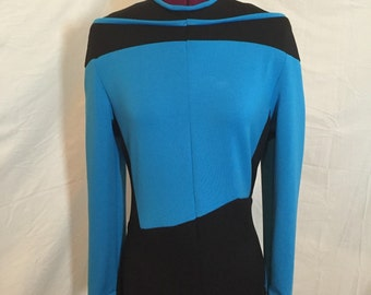 Star Trek: The Next Generation uniform jumpsuit, custom made in your size and color
