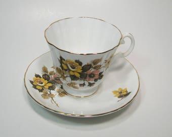 Royal Grafton Tea Cup And Saucer Fine Bone China England