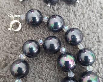Black South Sea Pearl Set