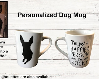 Personalized Dog Coffee Mug *Introductory Price*