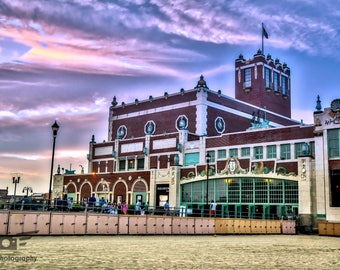 Convention Hall in Asbury Park-  Photography Print, Pictures, Wall Art