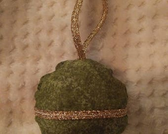 Fabric Christmas Bauble