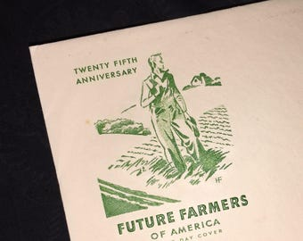 Future Farmers of America US Post Office First Day Envelope