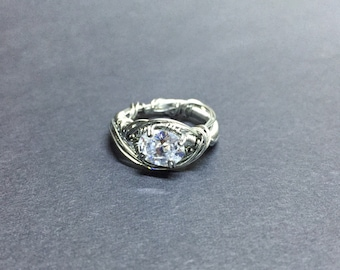 One of a Kind Size 10 Stainless Ring