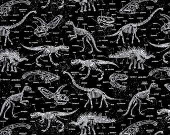 Glow in the dark dinosaurs weighted blanket  large  38-40x70
