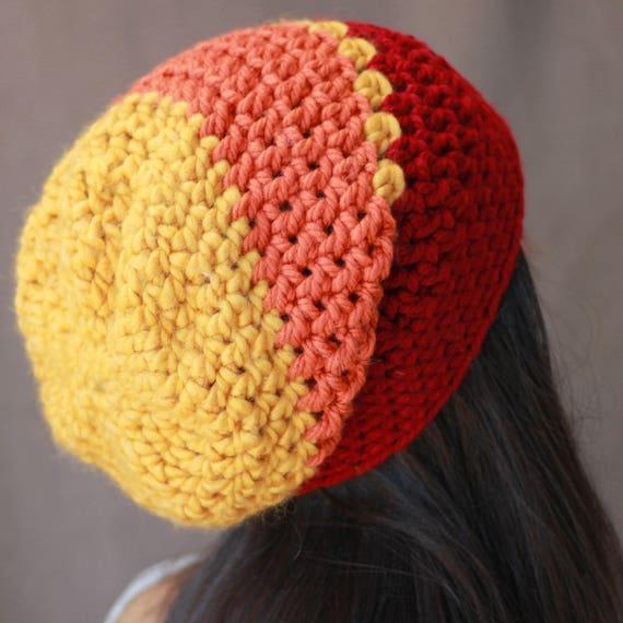 Easy Crochet hat pattern, Beginner hat pattern PDF Patron crochet ...