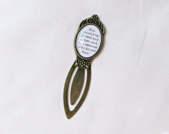 Gone With The Wind Quote Bookmark - You Should Be Kissed And Often By Someone Who Knows How - Bookworm Reader