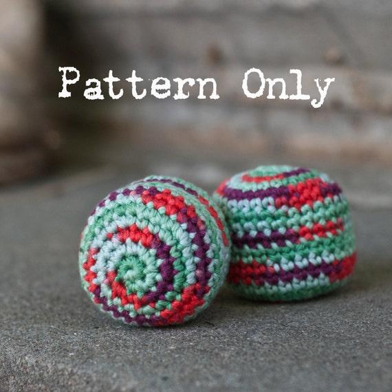 PATTERN: Hacky Sack Crochet Pattern Easy Pattern Digital