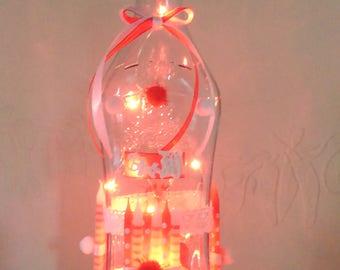 Light bottle lamp