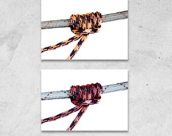 Prusik Knot Greetings Card