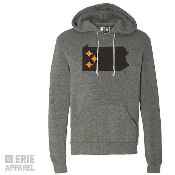 PA Steel State Hoodie - Pittsburgh Pullover Sweatshirt vnatpvsgg