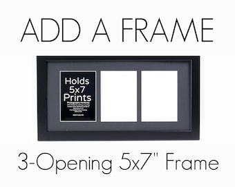 "Add: 3-Opening 5x7"" Frame"