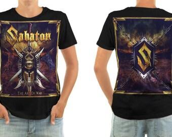 SABATON the art of war shirt all sizes