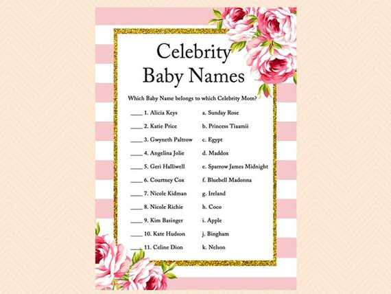 Celebrity Baby Names: Popular, Unique & Crazy | Parents
