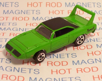 Hot Rod Magnet - 1970 Plymouth Superbird : Hot Rod, Tool Box. Man Cave, Stocking Stuffer, Magnet