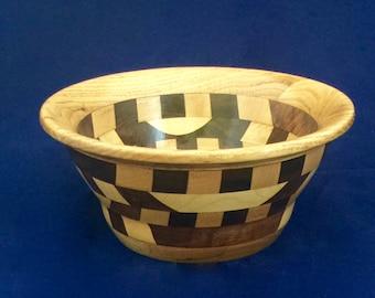 Wood Segmented Bowl B33