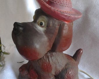 Vintage Kitcsh Dog Night Light