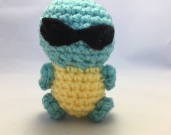 Squirtle with sunglasses