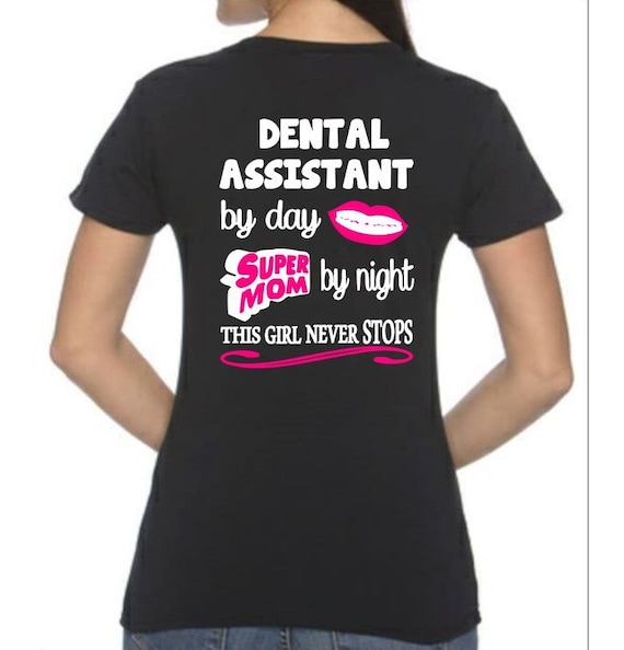 Assistente Dentale T-shirt fck7o8XDV