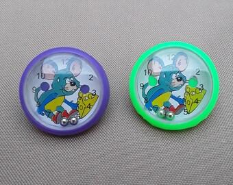 Cartoon Mouse Earrings