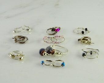 10 Pair Sterling Earrings(lot2)