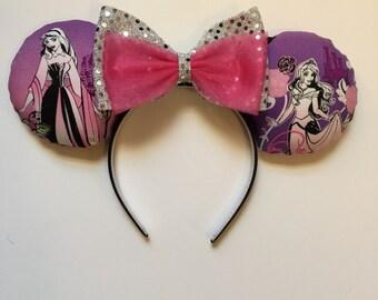 Sleeping Beauty Aurora ears headband