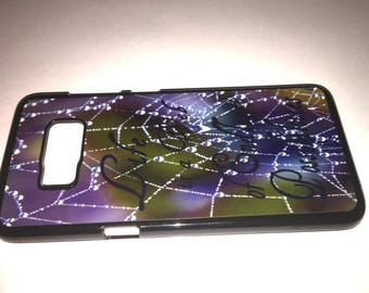 Life is a Web of Endless Possibilities drops on Web Samsung Galaxy 8 Case 3x