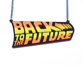 Back to the Future Necklace