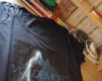 "Tee-shirt ""VOLDEMORT"" - HARRY POTTER / Lord Voldemort"