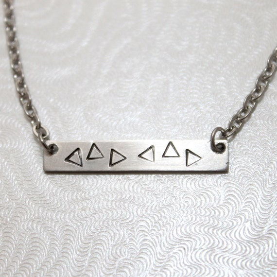 Zelda's Lullaby Necklace, Gamer Jewelry, Ocarina of Time