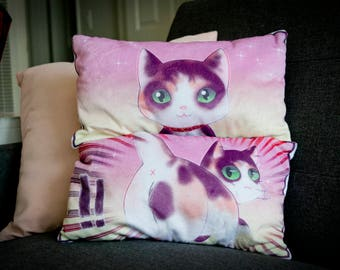 Double-sided Cat Pillow